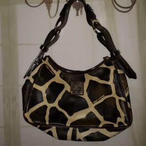 Giraffe safari dooney and bourke many purse all le